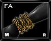 (FA)WristChainsOLMR Gold