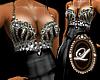 LIZ long black dress