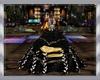 robe bal black dore
