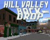 Hill Valley backdrop 1