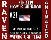 ANIM WAVING USA FLAG V2!