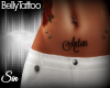 .:S:. Anton Belly Tattoo