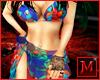 JM Tropical Bikini Blue