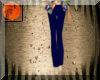 Blue skinny pants