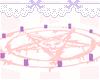 pink ritual circle.