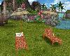 Hawaiian Chaise Lounge