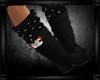[zuv]christmas boot blac