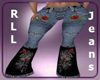 RLL Rose Jeans Flares