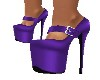 PURPLE X-HIGH HEELS