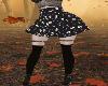 gothic skull skirt RLL