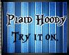 Plaid Hoody