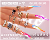 $ Color Marbel -Nails XL