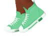 [B] Green Sneakers