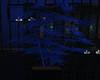 Blue Neon Plant {F}