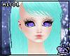 Aqua Blue Liam Hair