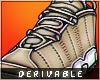🛒 (F) Wheat Sneakers