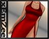 MZ - Noelle Dress Red