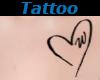 Tattoo Chest W Heart