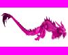 Pink Lotus Asian Dragon