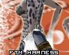 FT/M Harness Wht/Stl