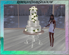 *wedding winter* cake