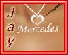 !J1 Mercedes Necklace