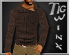 TWx:Chestnut Sweater