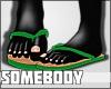 J. Green Flip Flops !