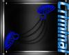 |F| Blue Shoulder Spikes