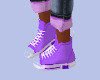 [B] Sneakers Lavendar