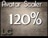 LC Avatar Scaler 120% F