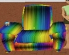 Animted Rainbow Recliner