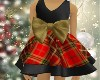 Kid Plaid Xmas Dress