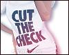 Nike cut the check