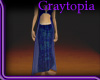 [KG] Gypsy Skirt - Blue