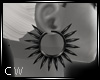 !C PVC Spiked Earring