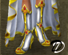 Bejeweled boots (wht)