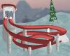 Red/Wht Tobaggan Slide