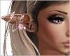 Pink Flower Elf Ears