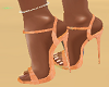 "5"" Tan Suade Shoes"