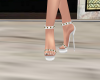 Elegant White Heels