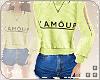 L. L'Amour Fit green