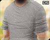 Grey Casual Roll Shirt