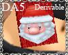 (A) Santa Scarf F