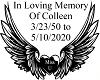 Remebering Colleen