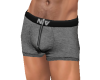 NV Zip Boxer Grey