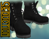 |S| Black Boots