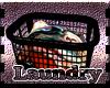 Laundry Basket Blk