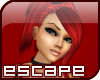 e] Red Hot Arachnia Hair