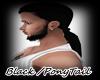 *Black PonyTail/M